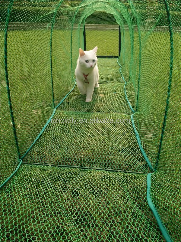 Outdoor Pet Training Tunnel Pet Mesh Tunnelstrong Cat Running Tunnel With Stakes Or Pegs Buy