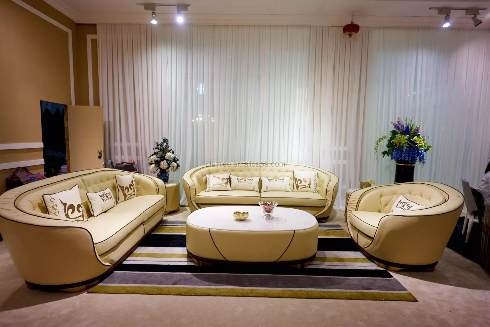 Classical Contemporary Living Room Furniture Enveloping Tufted Sofa Set With Sleek Design Comfortable Leather Upholstery Sofas Buy Luxury Living