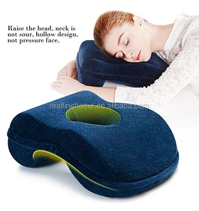 nap sleeping pillow cushion bamboo charcoal memory foam pillows for office desk buy nap sleeping pillow cushion nap sleeping pillow memory foam