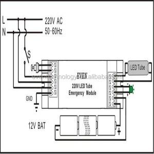 Emergency 16w 2d Bulkhead Light With Liion Battery Packemergency Light Backup Module For 2d