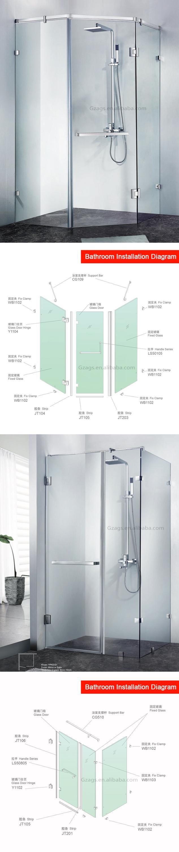 Concise Design Shower Door Frameless Frosted Glass Bathroom Door Buy Frosted Glass Pocket Doors Frosted Glass Bathroom Door Frameless Glass Door