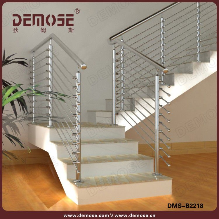 Indoor Interior Stainless Steel Glass Stair Railing Design Buy | Staircase Steel Railing Designs With Glass | Glass Panel Wooden Handrail | Modern Style | Stair Glass Void | Curved | Metal