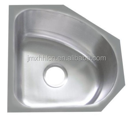 small size stainless steel corner single bowl irregular shape hand washing sinks for bar cupc buy 1 2m stainless steel bar sink single corner