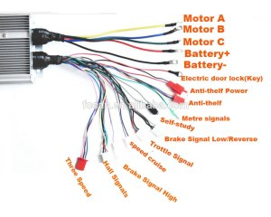 Higher Quality 48v 90a 2200w 36 Mosfet Brushless Dc Motor Speed Controller 30*116*6cm  Buy Dc