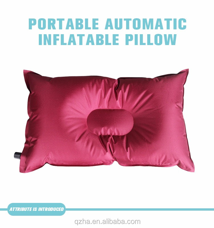 automatic inflatable pillow anti stress outdoor trekking sleep air pillow buy inflatable air bed pillow air filled pillow air filled pillow product