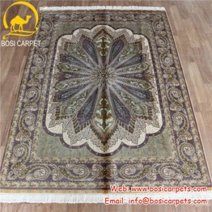 Henan Bosi 5x7 2ft Turkish Silk Carpet Living Room Decoration     Henan Bosi 5x7 2ft turkish silk carpet Living room decoration handmade  persian carpet prices