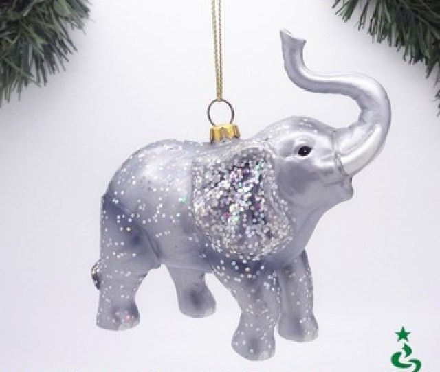Animated Hand Blown Glass Wild Animal Christmas Ornaments From Direct Factory In China
