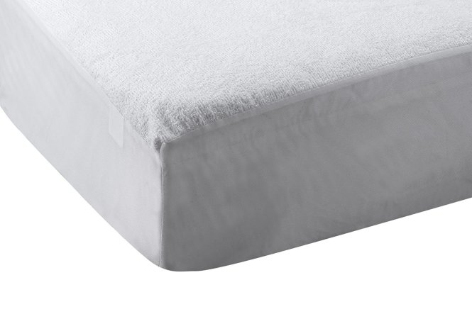 Abstract Waterproof Terry Top Bed Bug Mattress Protector 33 X 75 Cot