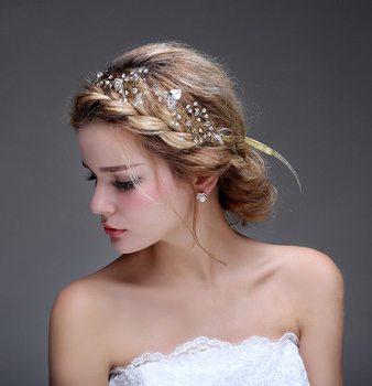 charming silver handmade headdress wedding headpiece chain crystal pearl bridal hair accessories buy handmade greek accessories jewelry sterling silver