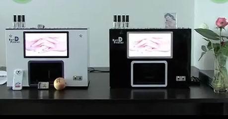 Nail Art Diy Printing Machine Sting Polish