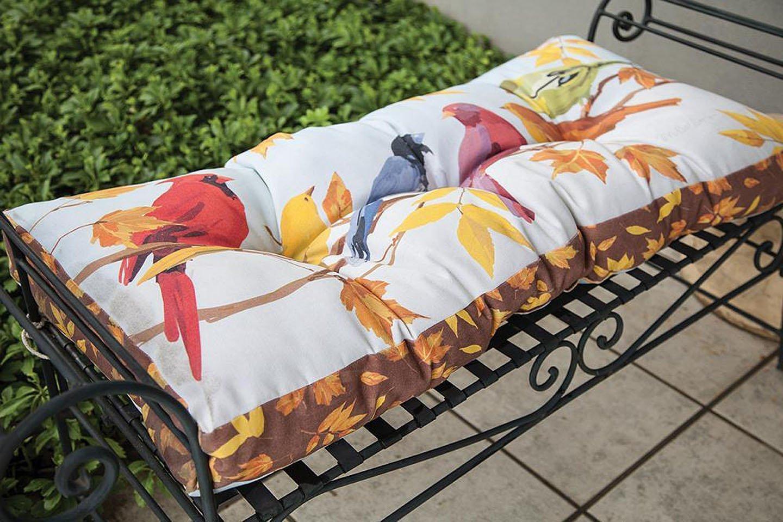 Buy Bench Cushions Autumn Birds Garden Bench Cushion 42 X 17 Indoor Outdoor Seat Cushion In Cheap Price On Alibaba Com