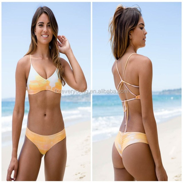 Custom High School Girls Sexy Swimsuit Hot Micro Bikini