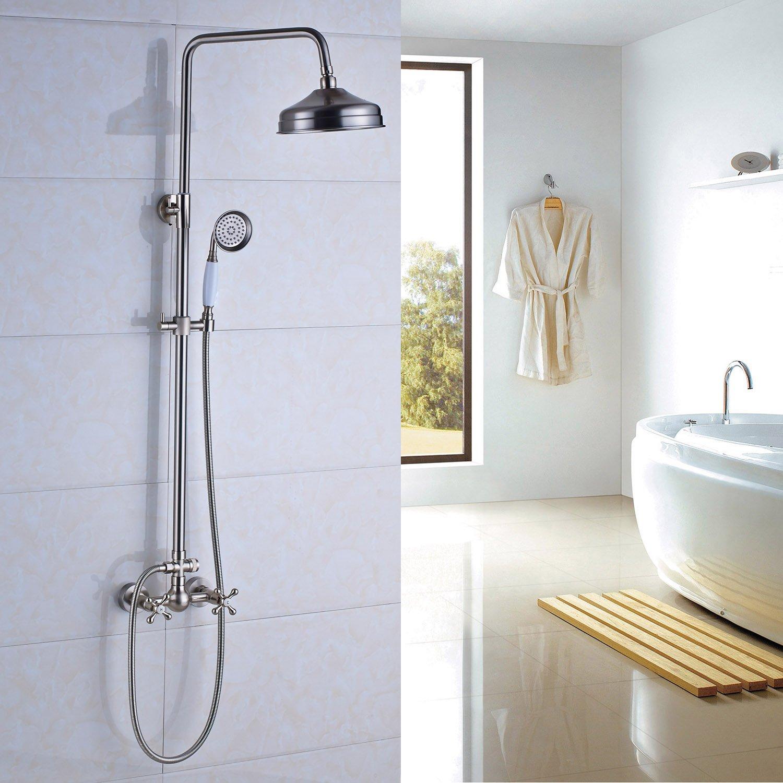 Cheap Brushed Nickel Shower Faucet Set Find Brushed Nickel