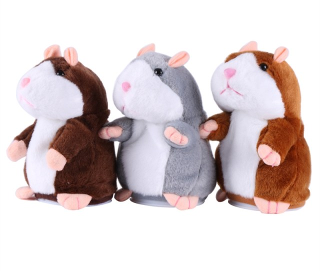 Sound Record Lovely Speaking Talking X Hamster For Kids