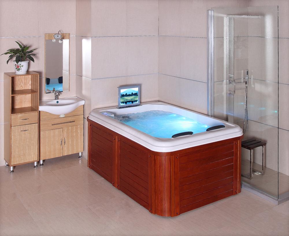 Hs Spa291y White Spa Bathtub 2 Person Portable Hot Tub