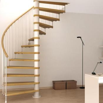 Spiral Stairs Design Images | Spiral Staircase Wooden Steps | 2 Floor | Traditional | Enclosed | Kid Friendly | Solid