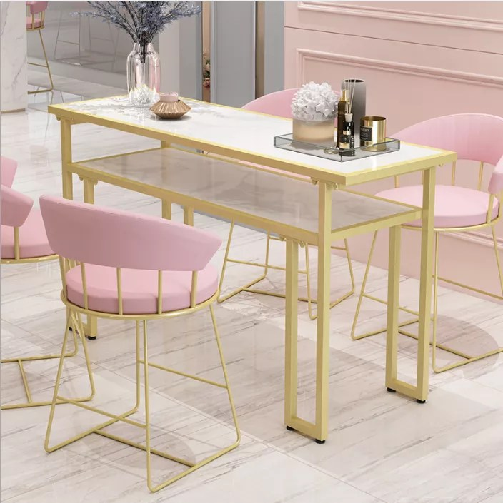 meuble de salon de manucure en metal table de salon moderne prix pas cher usine chinoise buy table de salon table de salon de manucure d ongle en