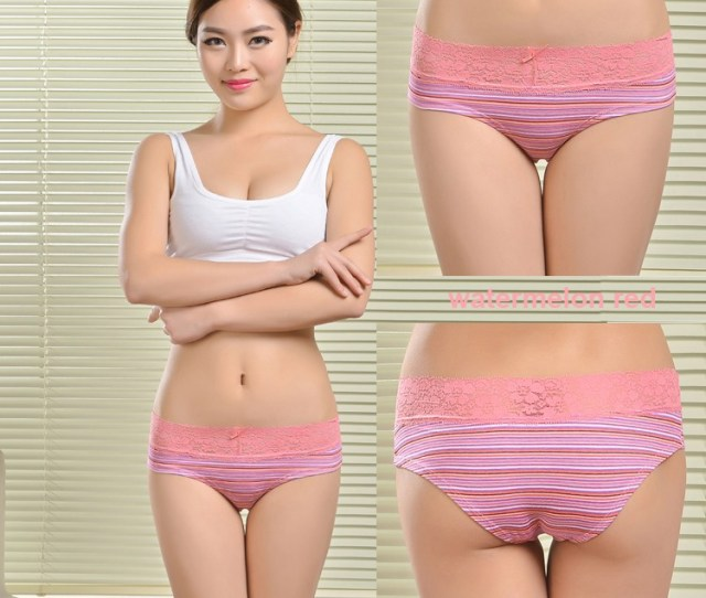 2015 Hot Selling Cotton Striped Printed Underwear Wholesale Women Underwear Buy Wholesale Women Underwearcotton Women Underwearprinted Women Underwear