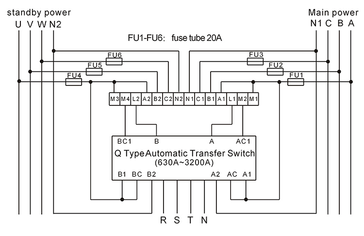 123 Automatic Transfer Switch Controller/ats Control