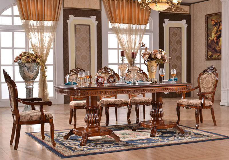 Modern Wooden Dining Table And Chairs For Dining Room
