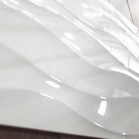 carrelage mural ondule blanc brillant ondule 300x600 buy tuile d ondulation de glace tuile d ondulation de glace brillante tuile en ceramique