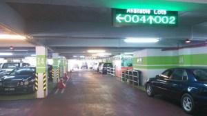 Parking Guidance System Ultrasonic Occupancy Sensorcar