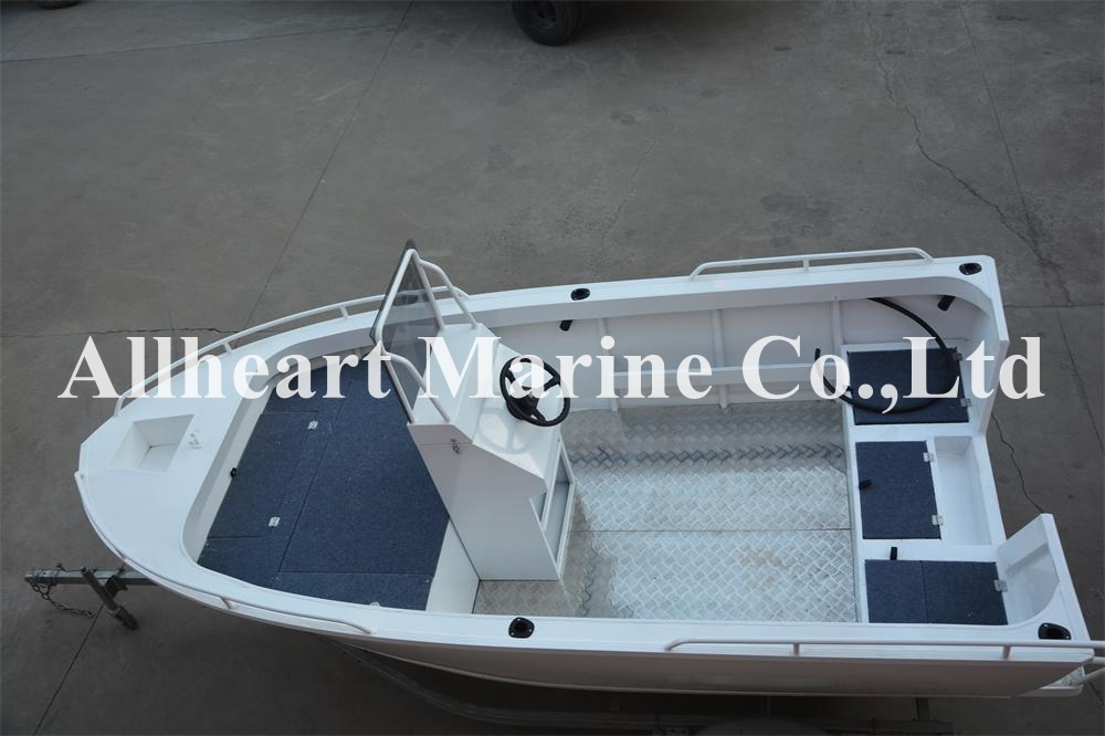 Aluminum Boat Side Steering Console