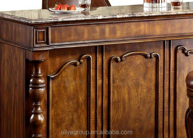 8019a-31-wholesale Solid Wood Furniture Used Home Bar