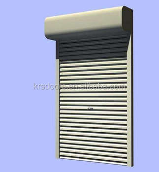 China Supplier Aluminium Roller Guide Sliding Kitchen Cabinet Shutter Door With Parts