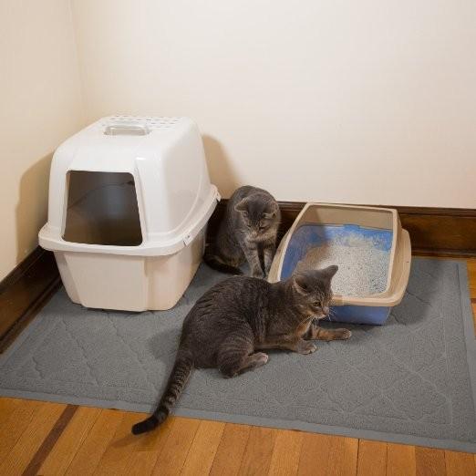 tapis de litiere extra large pour chat taille jumbo 47x36 pouces controle de la 1000g pour le suivi des chats buy tapis de fil hache tapis