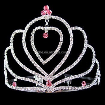 Wholesale Pageant Crowns Tiara Valentines Day Tiara
