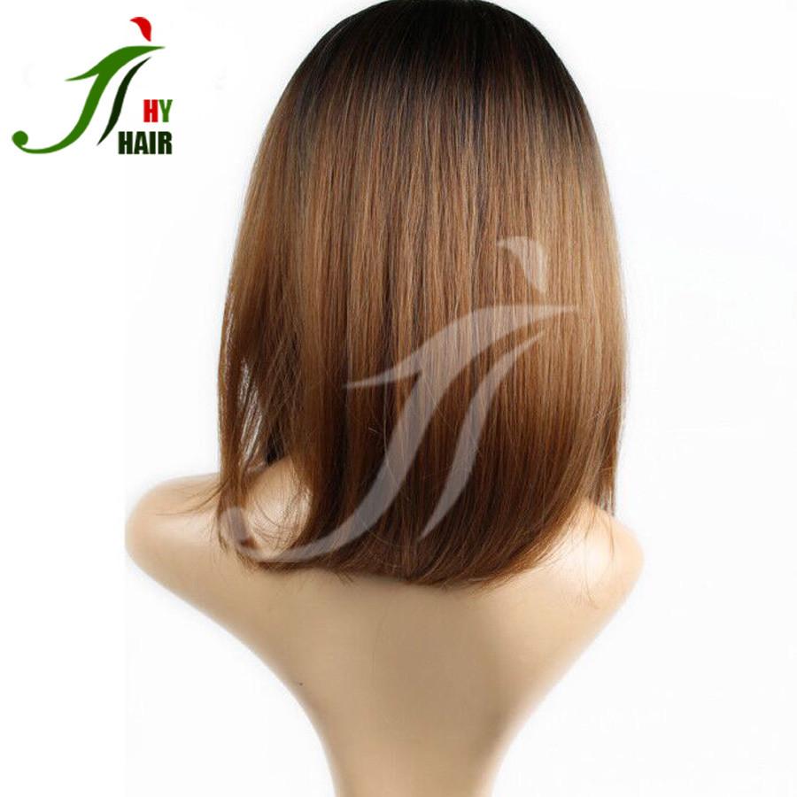 Aliexpress Brazilian Human Hair Full Lace Bob Wig Ombre