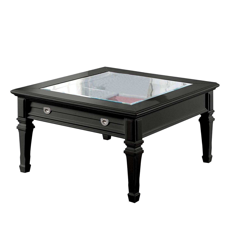 buy acme adalyn black coffee table with