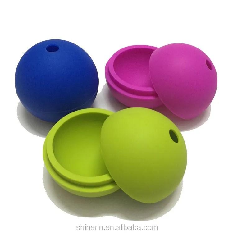 moule a boules de glace en silicone avec sphere pour des cubes a glace plateau creatif de grande taille de 2 5 pouces pour le whisky buy machine a