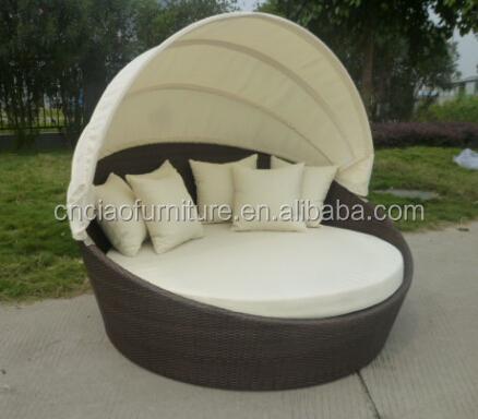 meubles d exterieur de jardin lit solaire rond buy mobilier d exterieur lit de bronzage lit rond bain de soleil en plein air product on alibaba com
