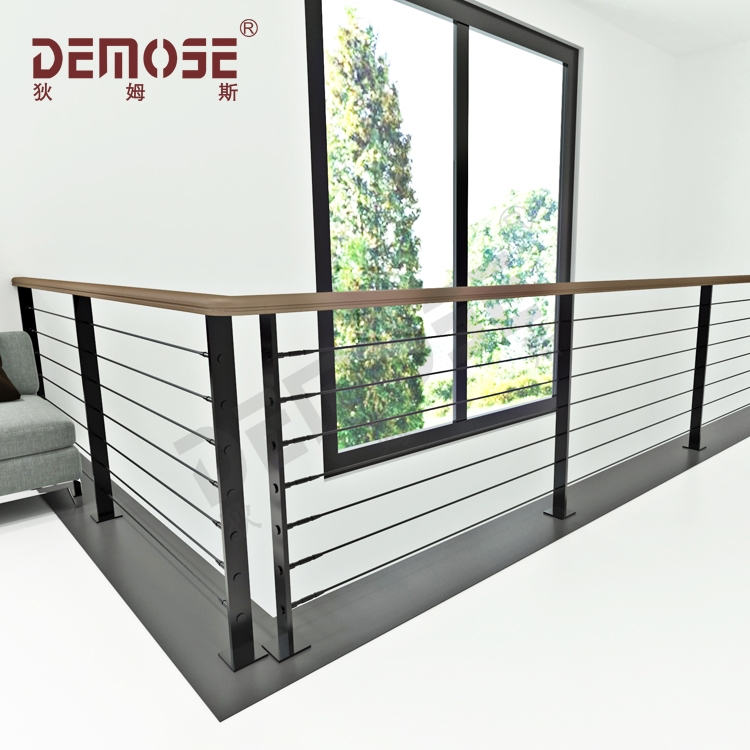 Galvanized Steel Diy Wood Cable Railings For Stair Buy | Cable Stair Railing Diy