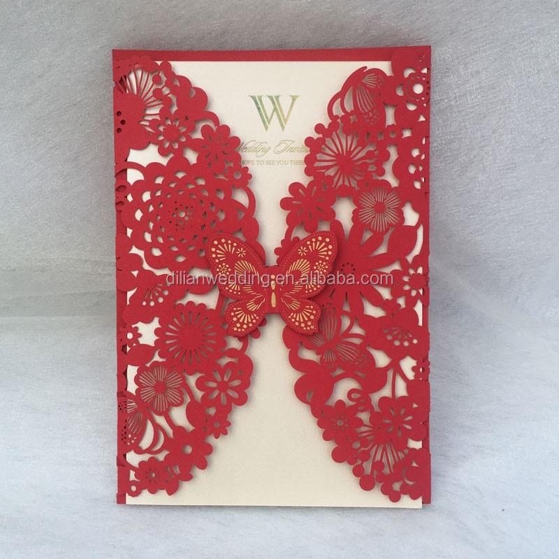 Showing Window Sleeve Card 2017 Latest Wedding Designs