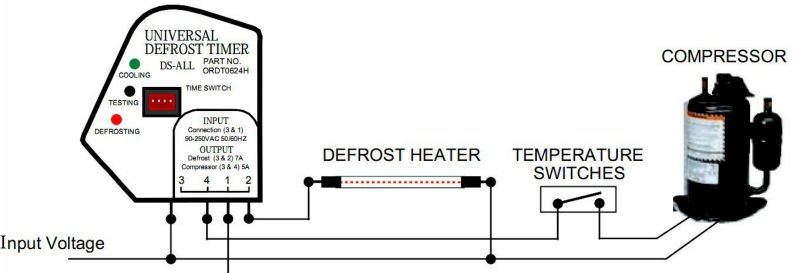 Ds All Universal Adjustable Defrost Timer View