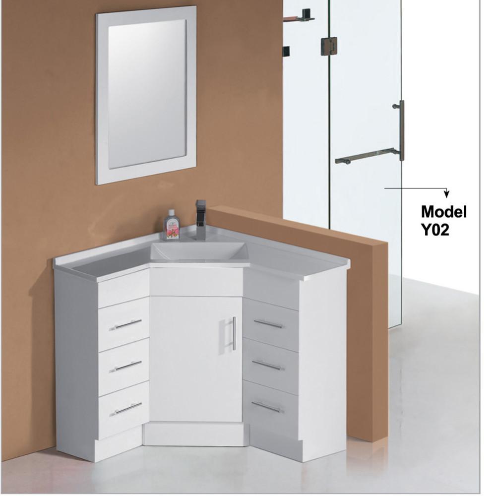 meubles d angle de salle de bains en laque blanc meubles de lavabo de salle de bains discount moderne offre speciale buy meubles d angle de salle de