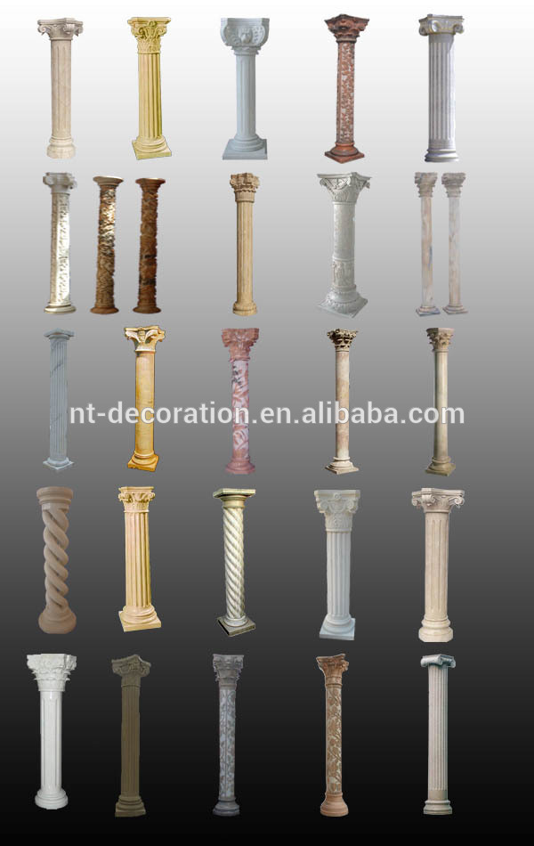 Concrete Pillar Columns And Roman Pillars Interior Decorative