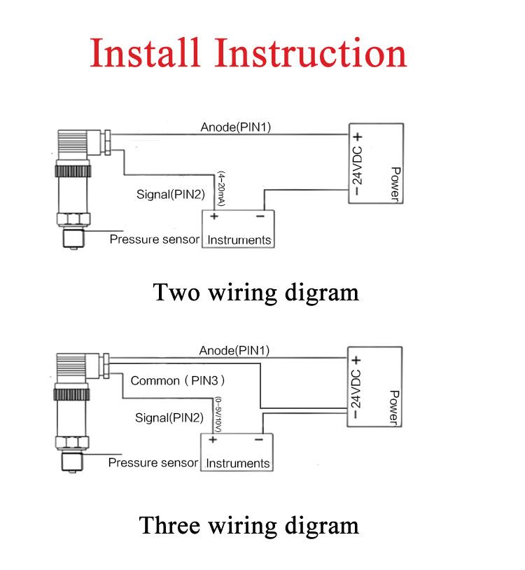 Pressure Transducer Wiring Diagram: Transducer Wiring Diagram - Dolgular.com,Design