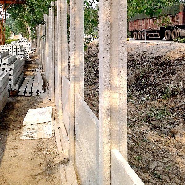 Prestressed Concrete Lintel Pillars Fencing Post 39 H Column T