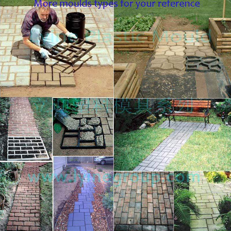 garden patio lawn curved path road stone cobblestone brick block concrete diy paver mold buy garden patio lawn curved path road stone cobblestone