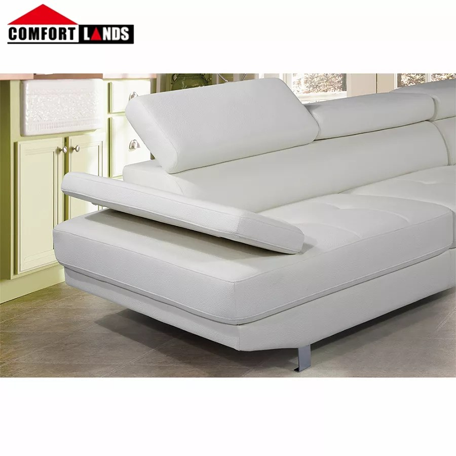 amazon hot sale leather l shape sectional sofa couch with chaise lounge white black brown buy leather couch sectional l shape sectional sofa