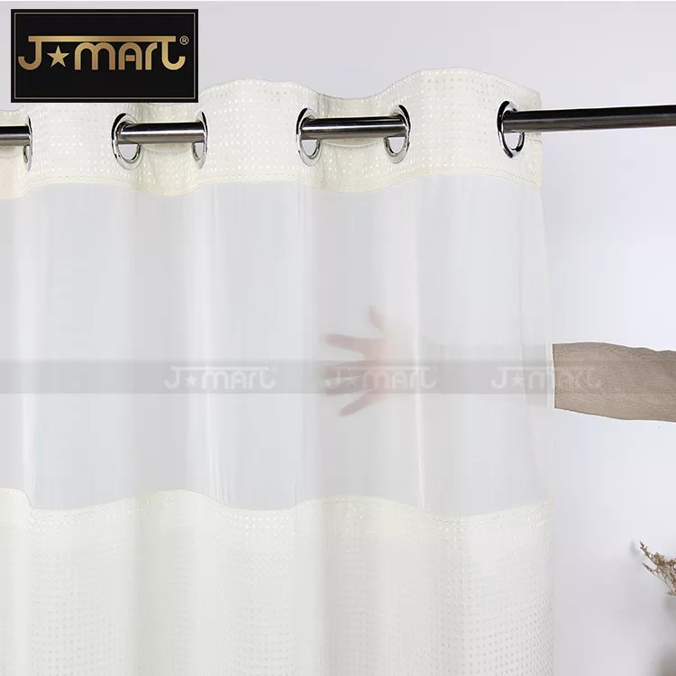 2019 new products luxury 5 star hotel diamond print hookless shower curtains with matching window buy hookless shower curtain shower curtains with