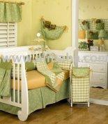 Image result for green nursery decor