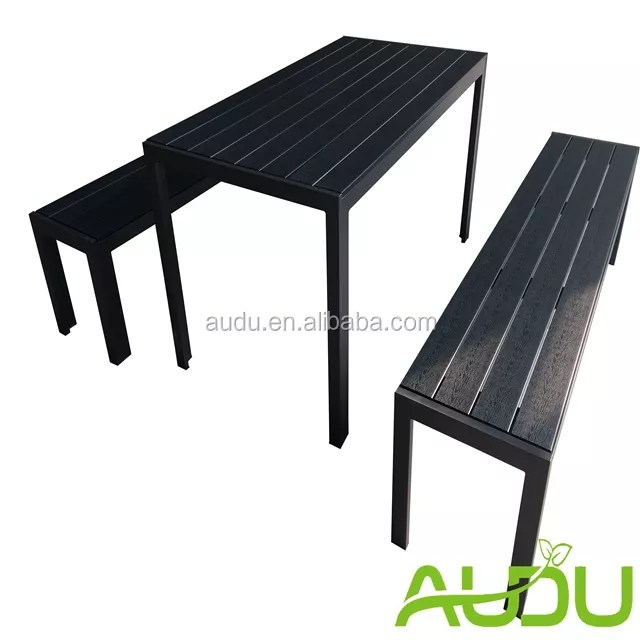 banc de jardin noir en bois ustensile de cuisine pas cher avec ensemble de table en plastique buy banc noir nonwood bancs de jardin en ardoise banc