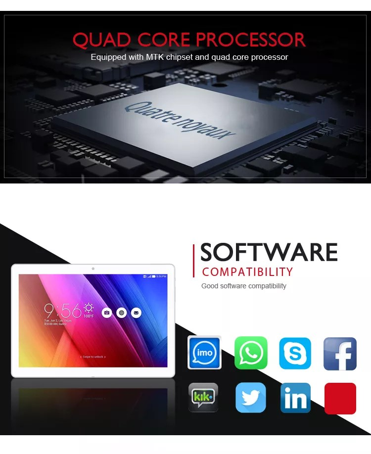 OEM Update Game Menu Phablet 10 Inch Android Tablet Pc 4G Phone Call Tablets