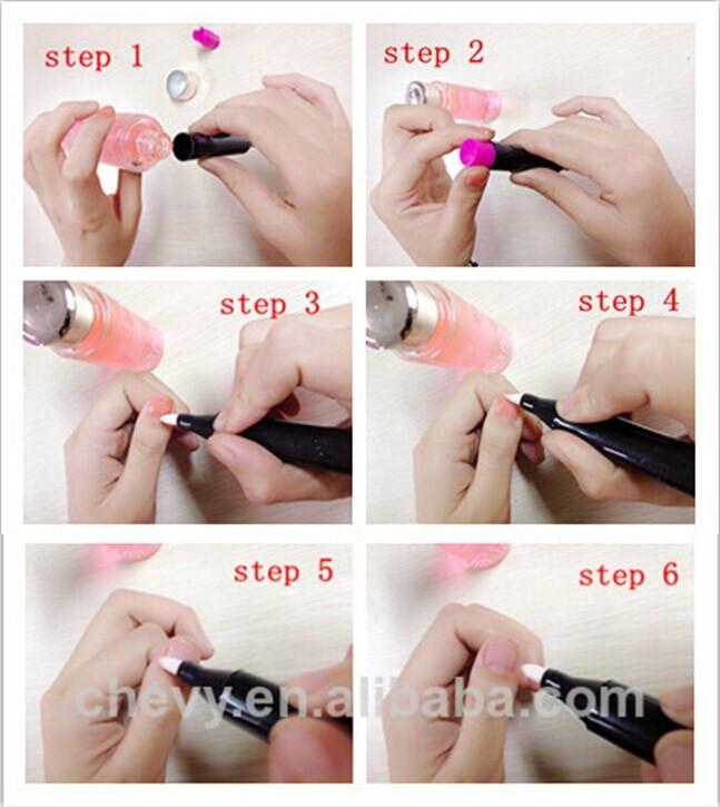 New Nail Polish Corrector Pen Remover Correction Mistakes Art