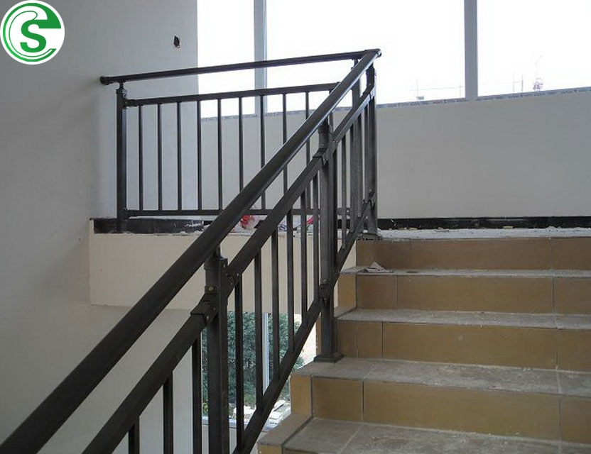 Construction Material Commercial Building Used Iron Stair Railing | Stair Rails For Sale | Metal | Cheap | Stainless | Minimalist | Hand